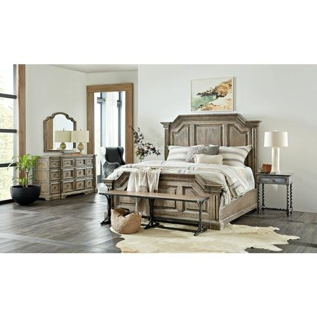 Hooker Furniture La Grange Bradshaw King Panel Bed