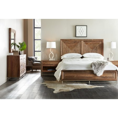 Hooker Furniture L'Usine Cal King Panel Bed