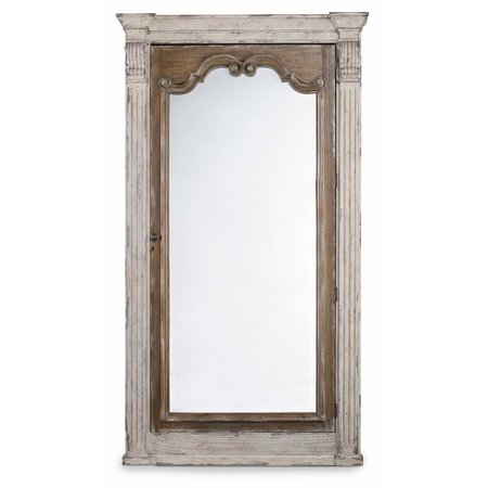 Hooker Furniture Chatelet Floor Mirror w/Jewelry Armoire Storage
