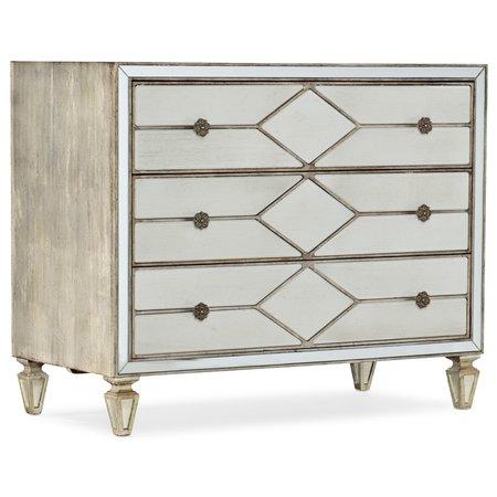 Hooker Furniture Sanctuary Queen of Diamonds Bachelorette Chest