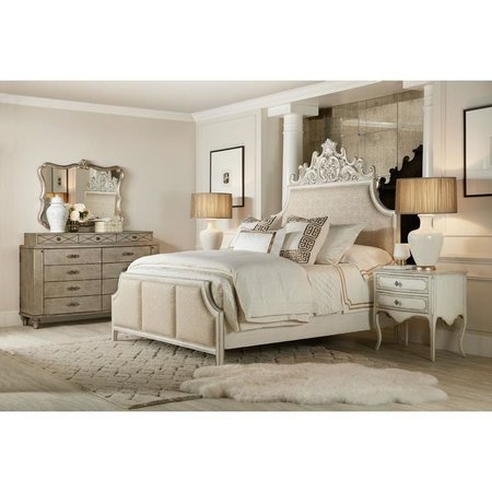 Hooker Furniture Sanctuary Anastasie Uph Queen Bed
