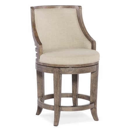 Hooker Furniture Lainey Transitional Counter Stool