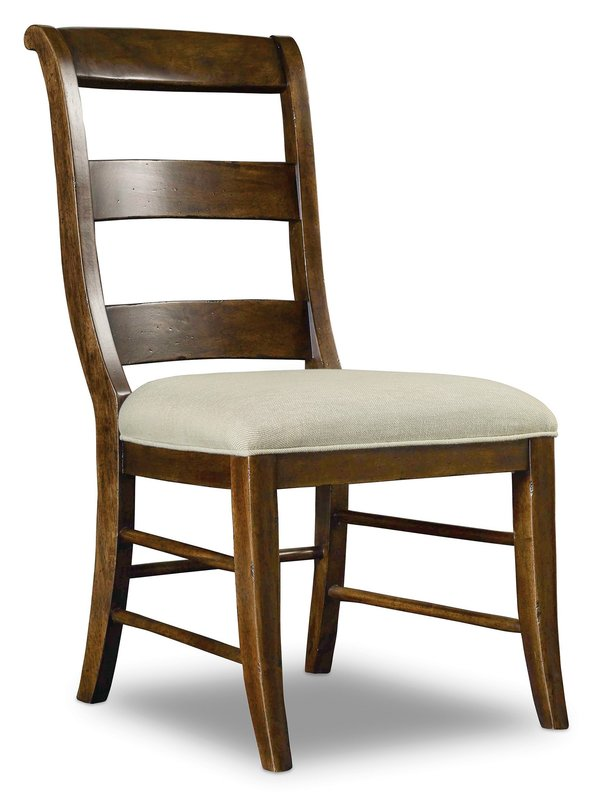 Hooker Furniture Archivist Ladderback Side Chair - 2 per carton/price ea