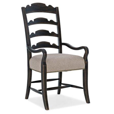 Hooker Furniture La Grange Twin Sisters Ladderback Arm Chair - 2 per carton/price ea