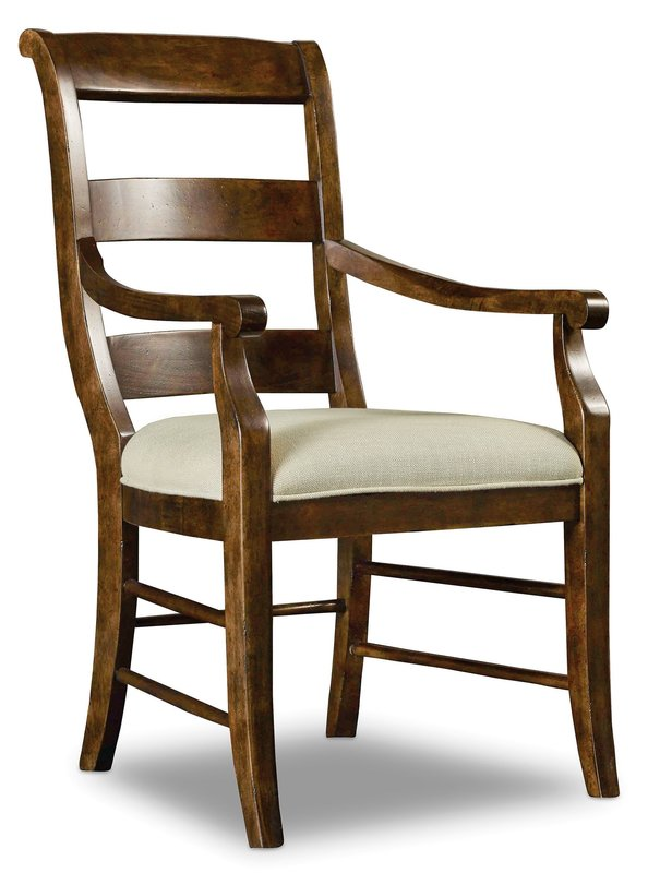 Hooker Furniture Archivist Ladderback Arm Chair - 2 per carton/price ea