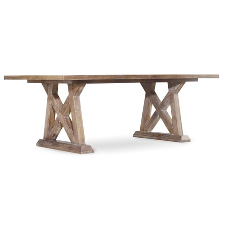 Hooker Furniture Studio 7H Geo Trestle Dining Table