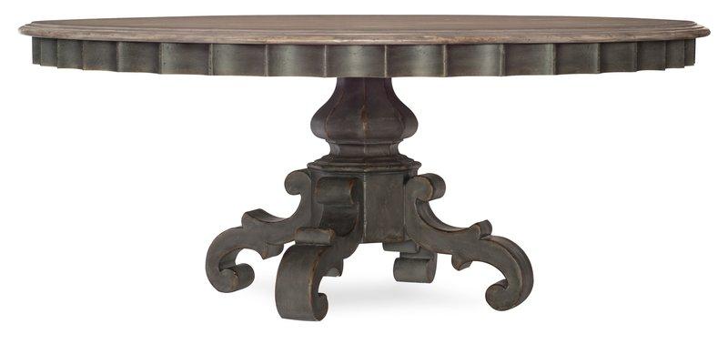 Hooker Furniture Arabella 72in Round Pedestal Dining Table