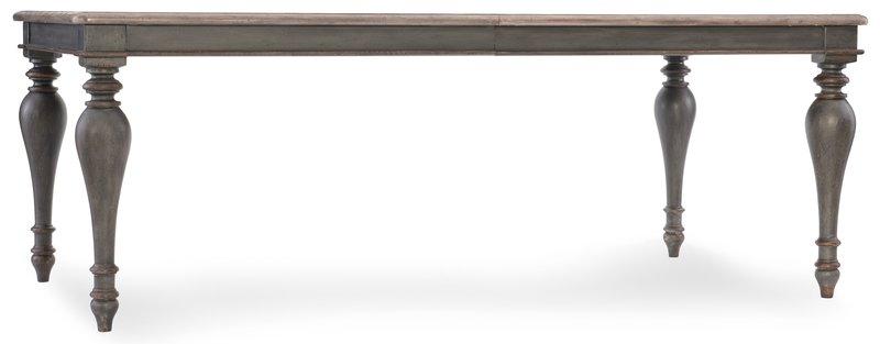 Hooker Furniture Arabella Rectangle Leg Table w/2-20 in leaves