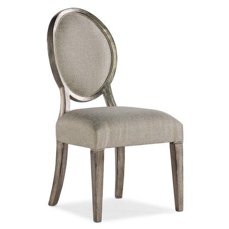Hooker Furniture Sanctuary Romantique Oval Side Chair - 2 per carton/price ea