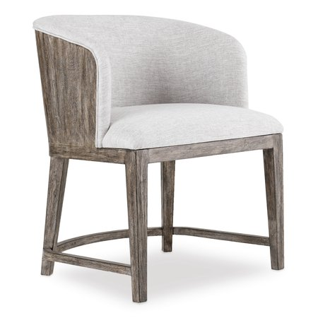 Hooker Furniture Curata Upholstered Chair w/wood back