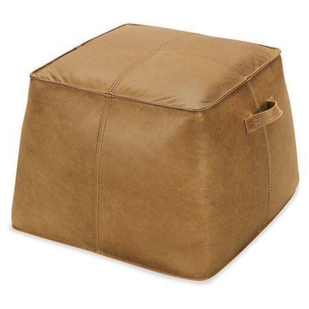 Hooker Furniture Birks Large Leather Ottoman