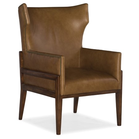 Hooker Furniture Burrell Leather Accent Chair