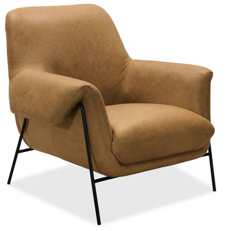 Hooker Furniture Ambroise Metal Frame Club Chair