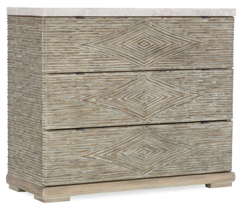 Hooker Furniture Amani Three-Drawer Accent Chest