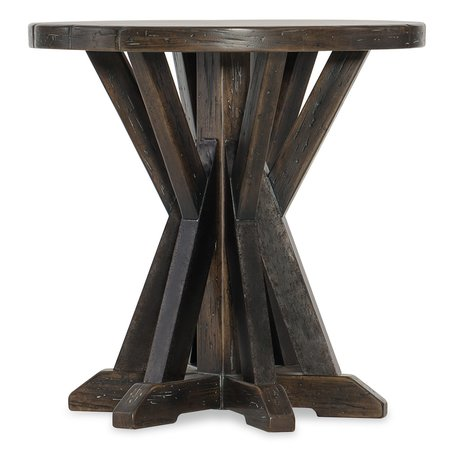 Hooker Furniture Roslyn County Round Lamp Table