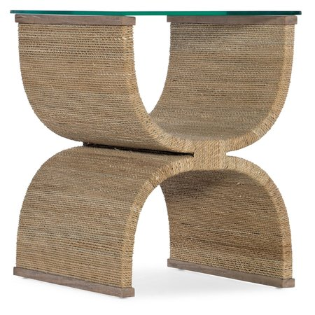 Hooker Furniture Melange Lenny Woven End Table