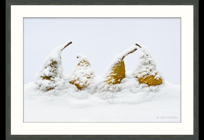 4 Snow Pears
