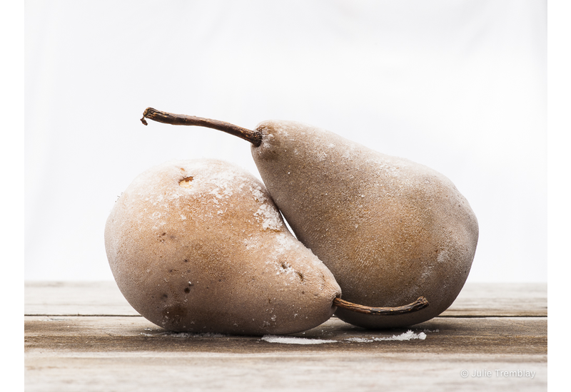 Frosted Pears