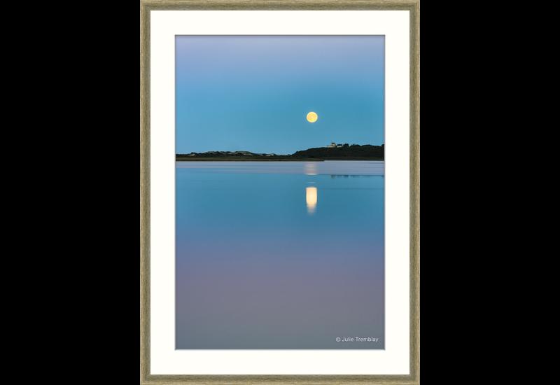 Moon Over Pilgrim Lake