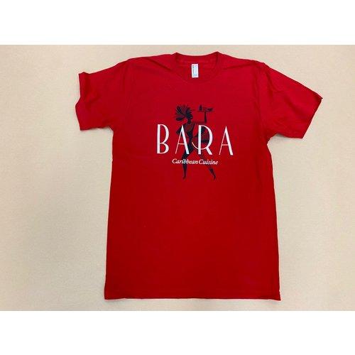 BARA Caribbean Cuisine BARA Brand Shirt - Red
