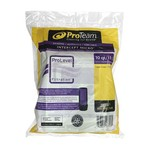 ProTeam Commercial Vacuums ProTeam 107313 Intercept Micro Filter Bags with Open Collar and 10-Quart Capacity, 10-Pack of Replacement Vacuum Filters