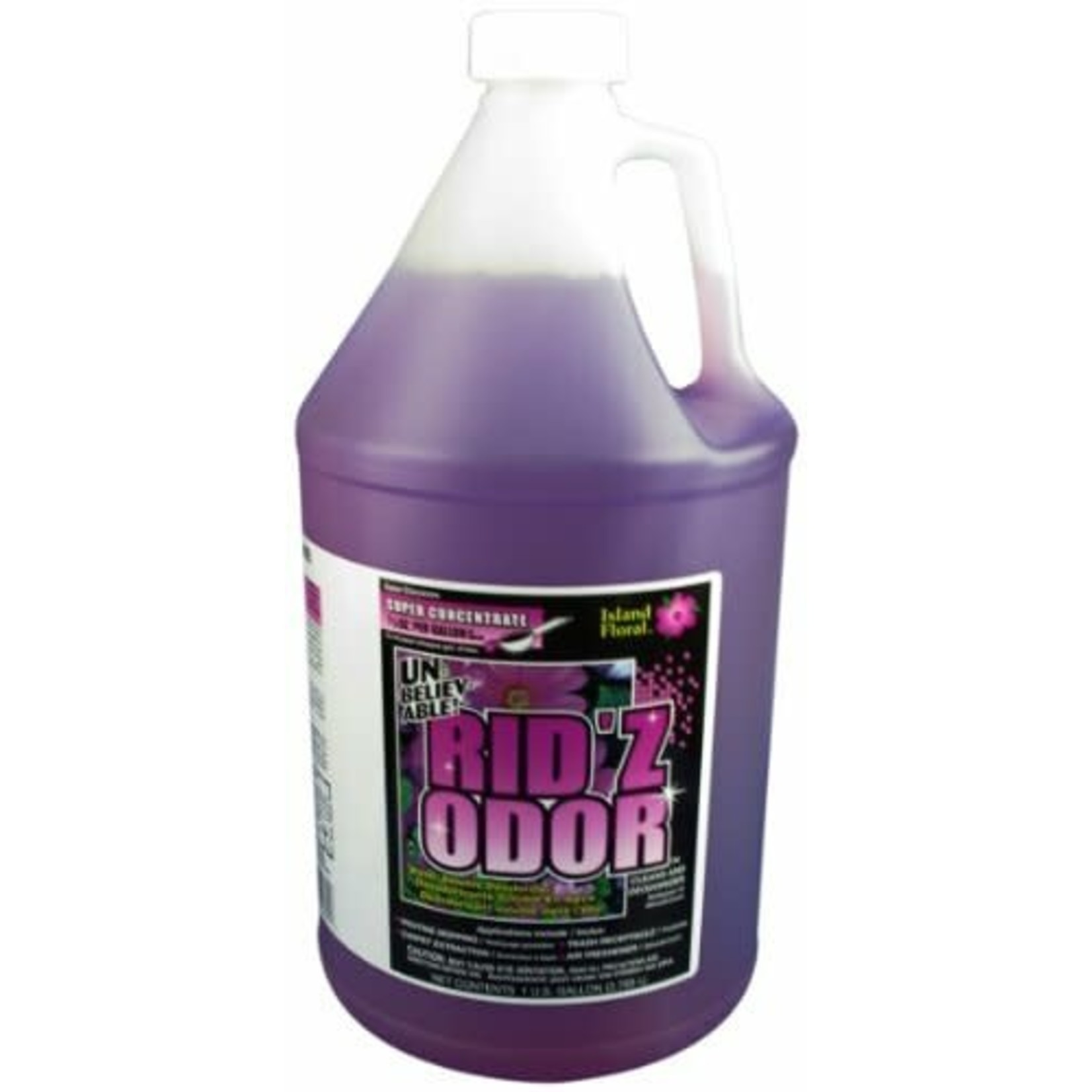 Core Products RID'Z ODOR SUPER CONCENTRATE UNBELIEVABLE! - ISLAND FLORAL - GALLON