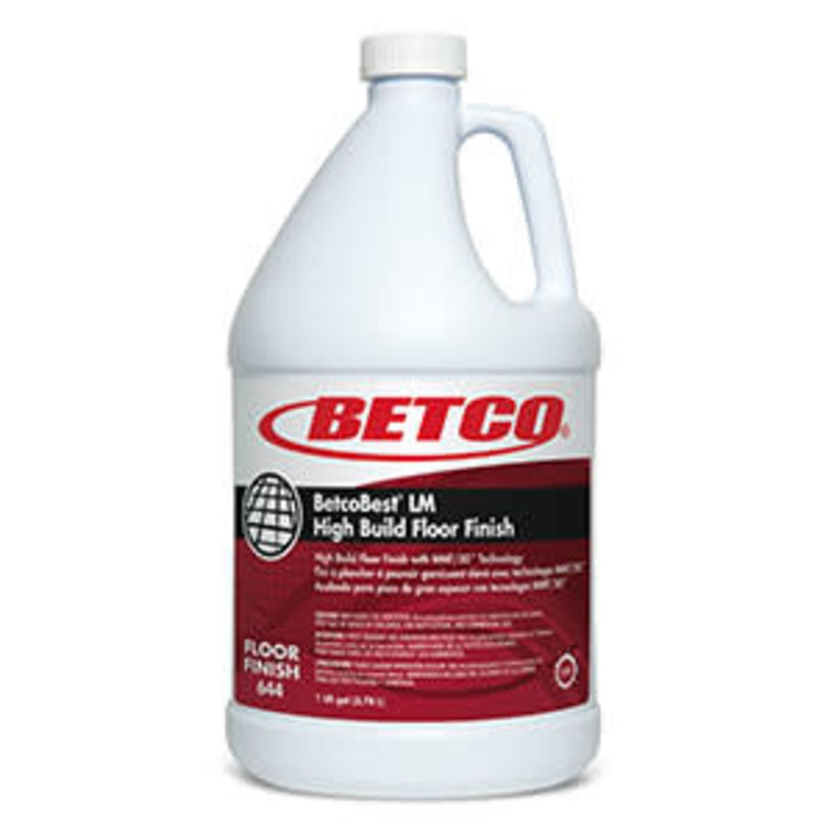 Betco BetcoBest® LM Floor Finish  - GALLON
