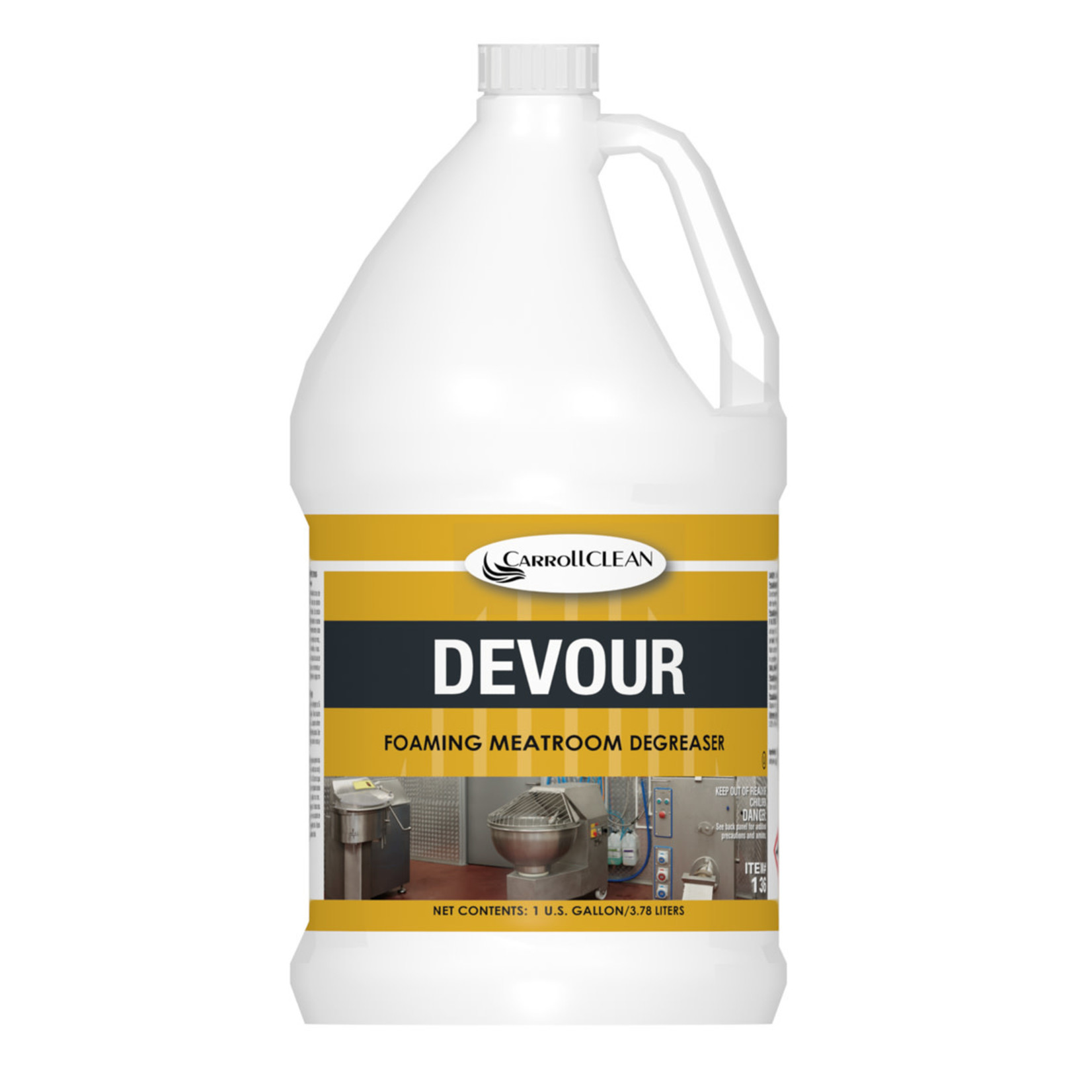 Carroll Devour - Foaming Meatroom Degreaser - Gallon