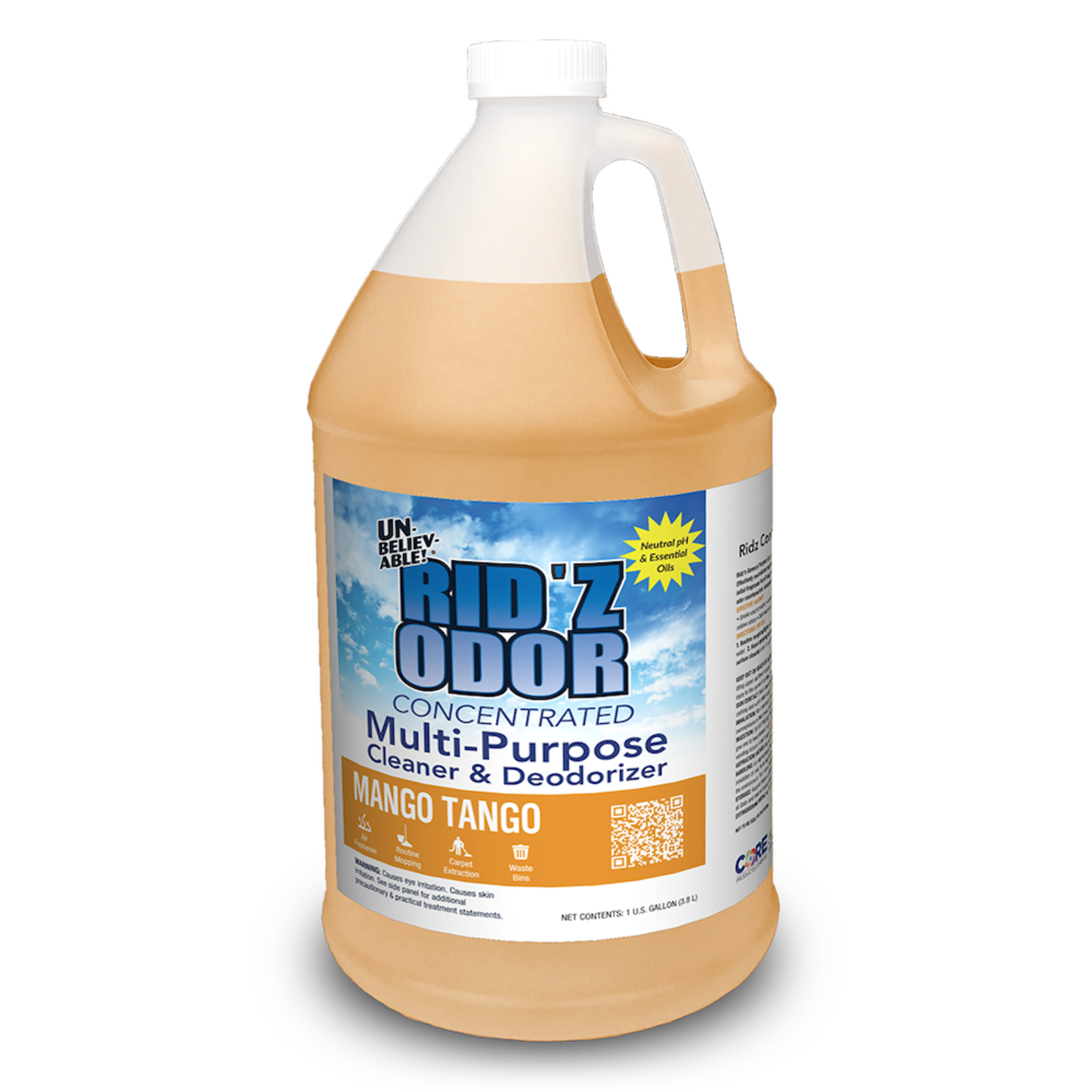 Core Products RID'Z ODOR SUPER CONCENTRATE UNBELIEVABLE! - MANGO TANGO - GALLON