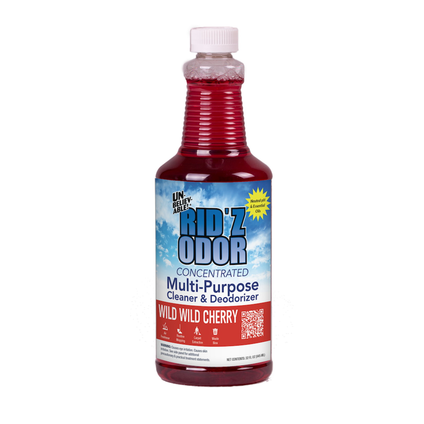 Core Products RID'Z ODOR SUPER CONCENTRATE UNBELIEVABLE! - WILD CHERRY - QUART