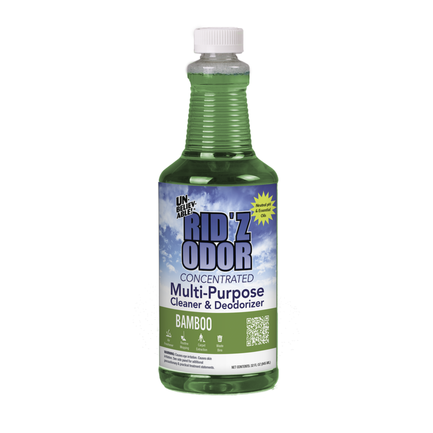 Core Products RID'Z ODOR SUPER CONCENTRATE UNBELIEVABLE! - BAMBOO - QUART