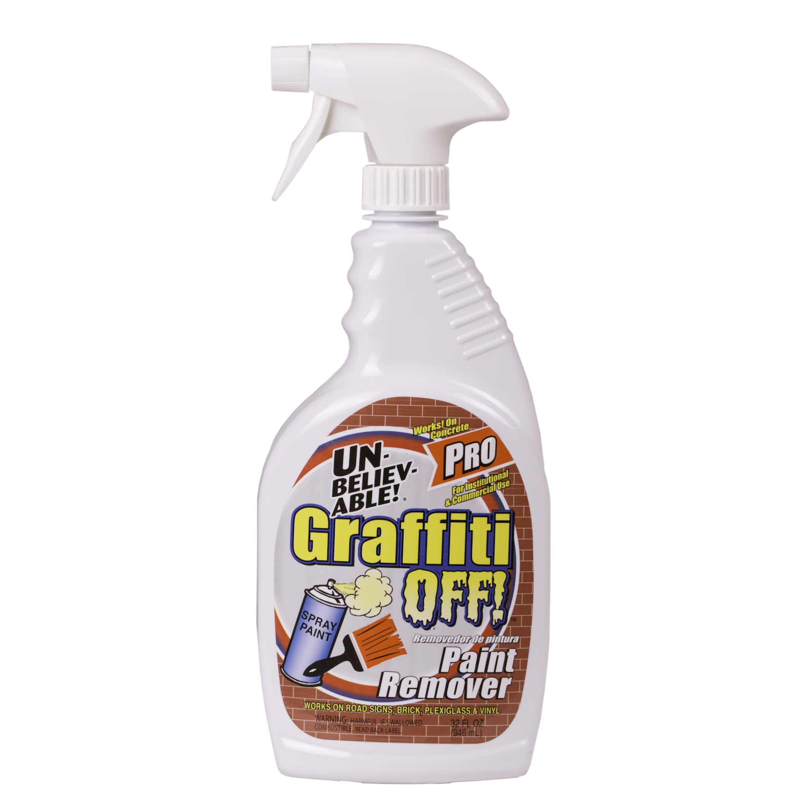 Core Products UNBELIEVABLE!® GRAFFITI OFF WATER- BASED PAINT REMOVER