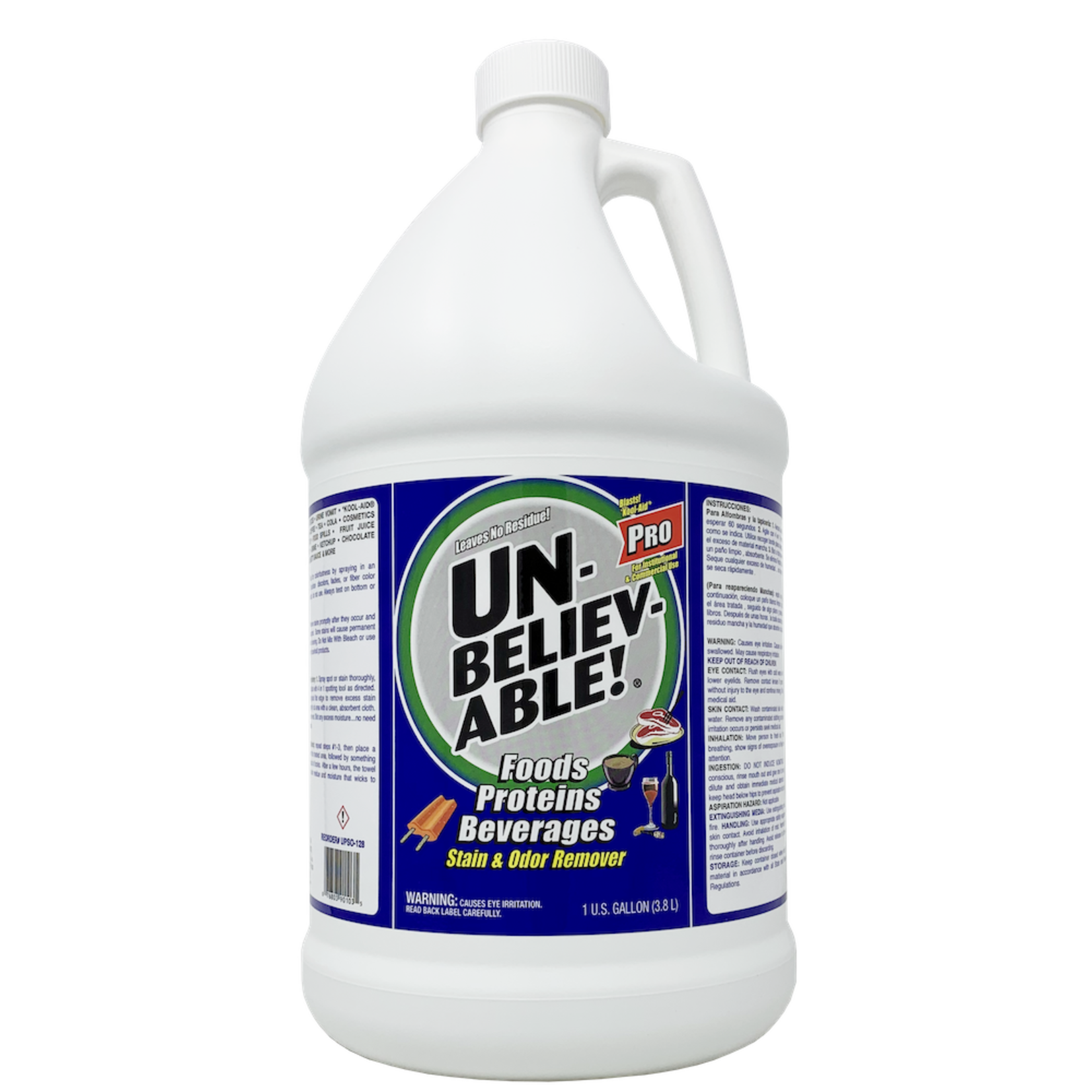 Core Products UNBELIEVABLE!® PRO STAIN & ODOR REMOVER - GALLON