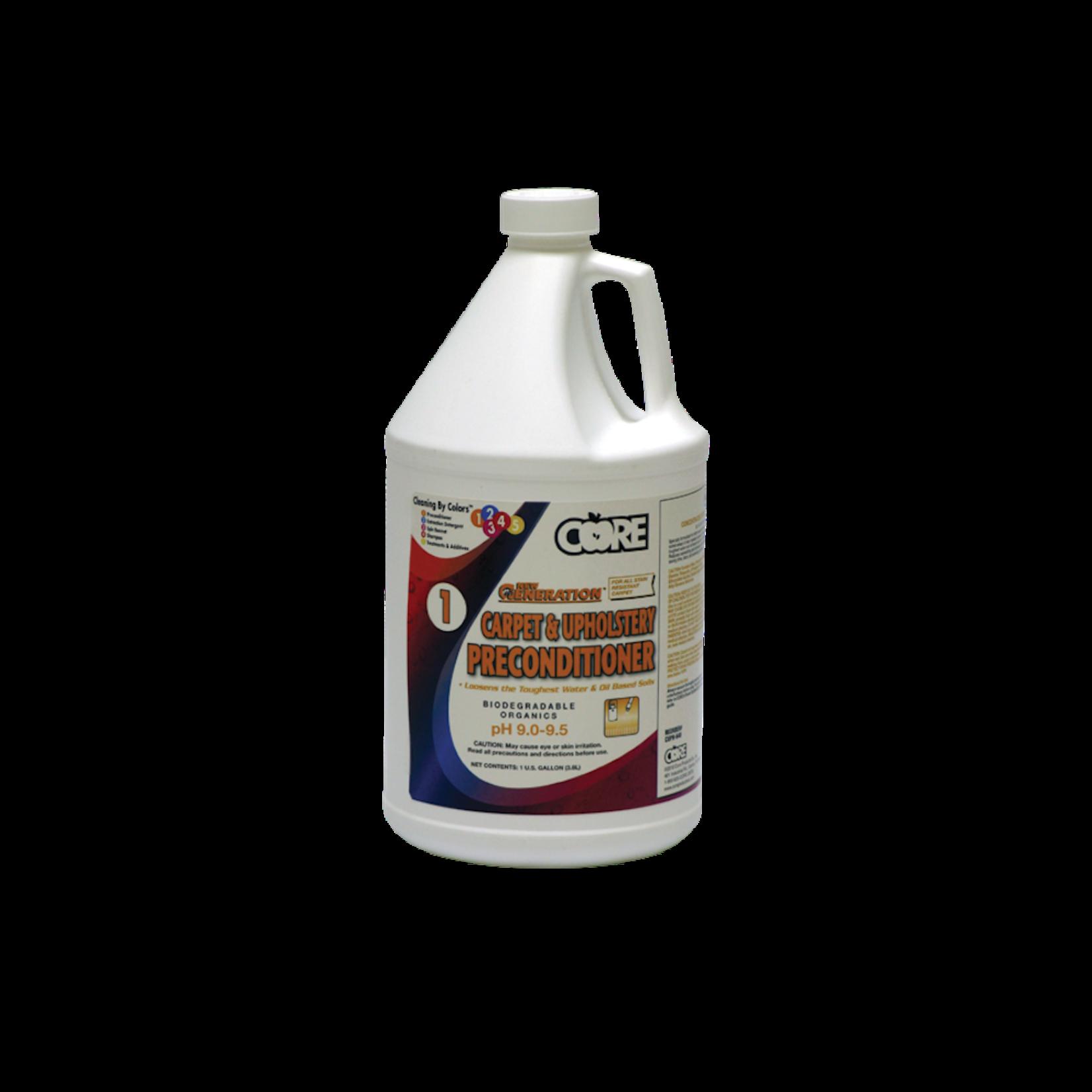 Core Products HEAVY DUTY CARPET PRECONDITIONER - GALLON