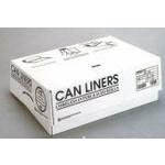 S386017K 60 Gallon Capacity Trash Can Liners - Black