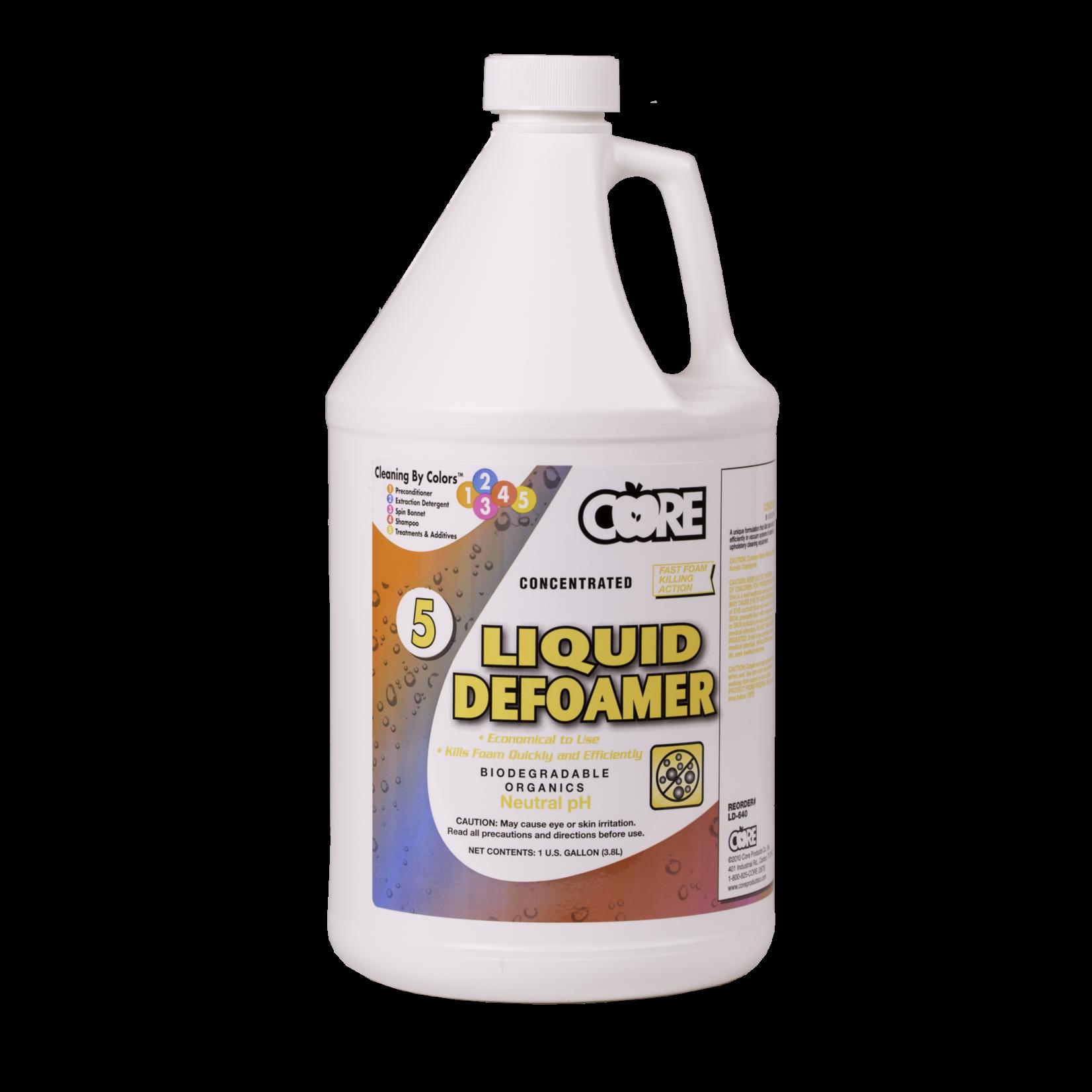 Core Products LIQUID DEFOAMER - GAL