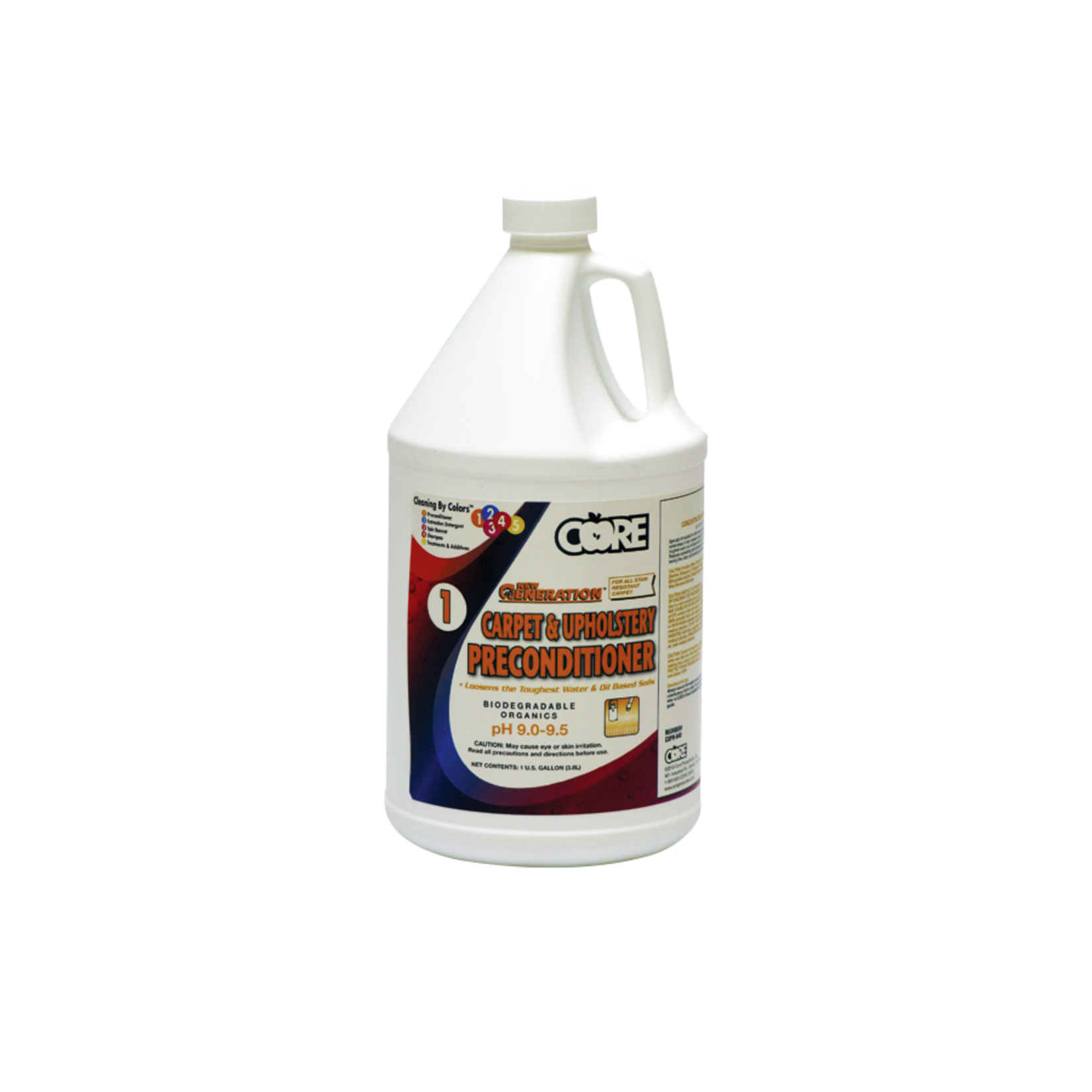 Core Products NEW GENERATION™ CARPET & UPHOLSTERY PRE-CONDITIONER - GALLON