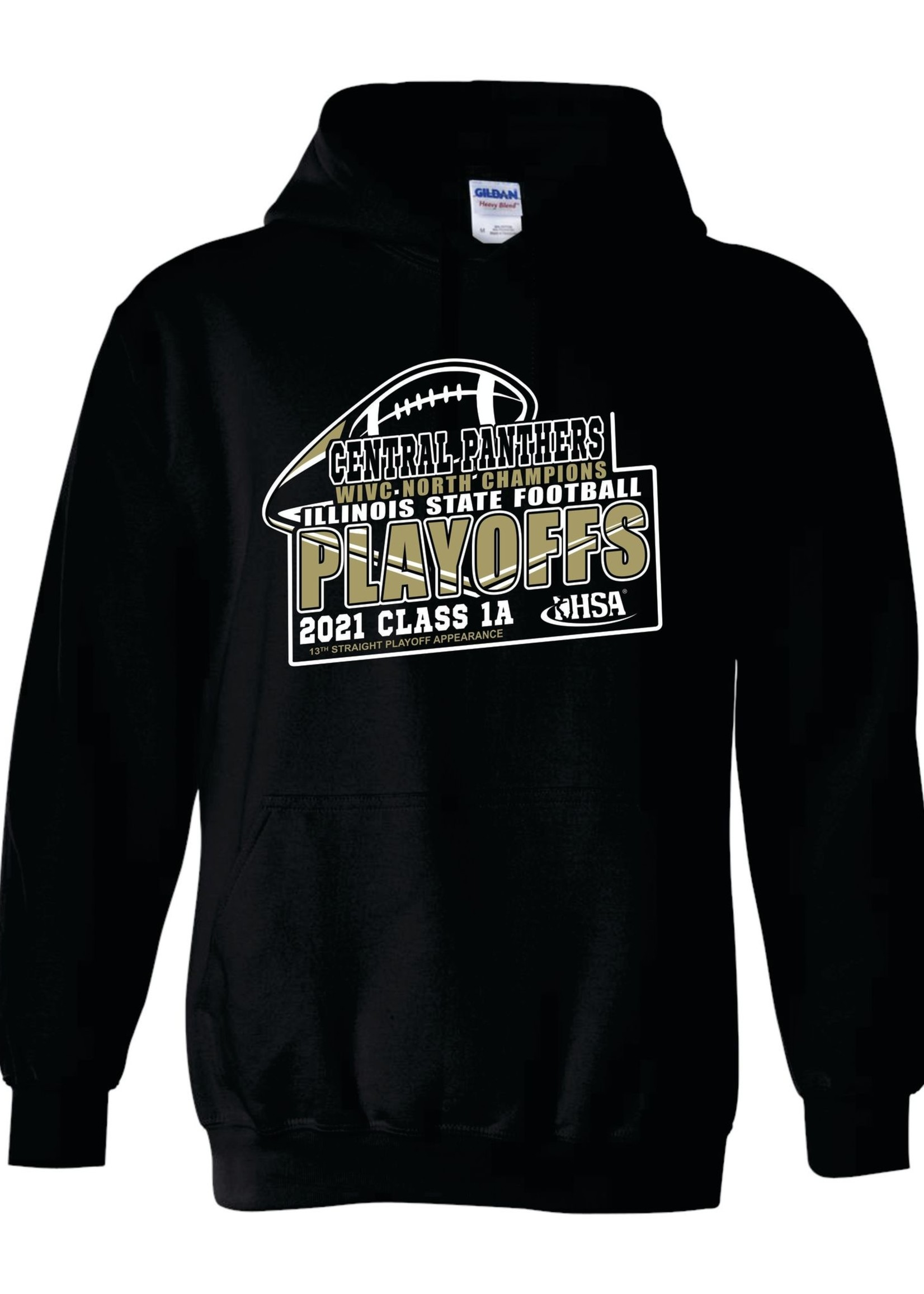 2021 Central Playoff hoodies