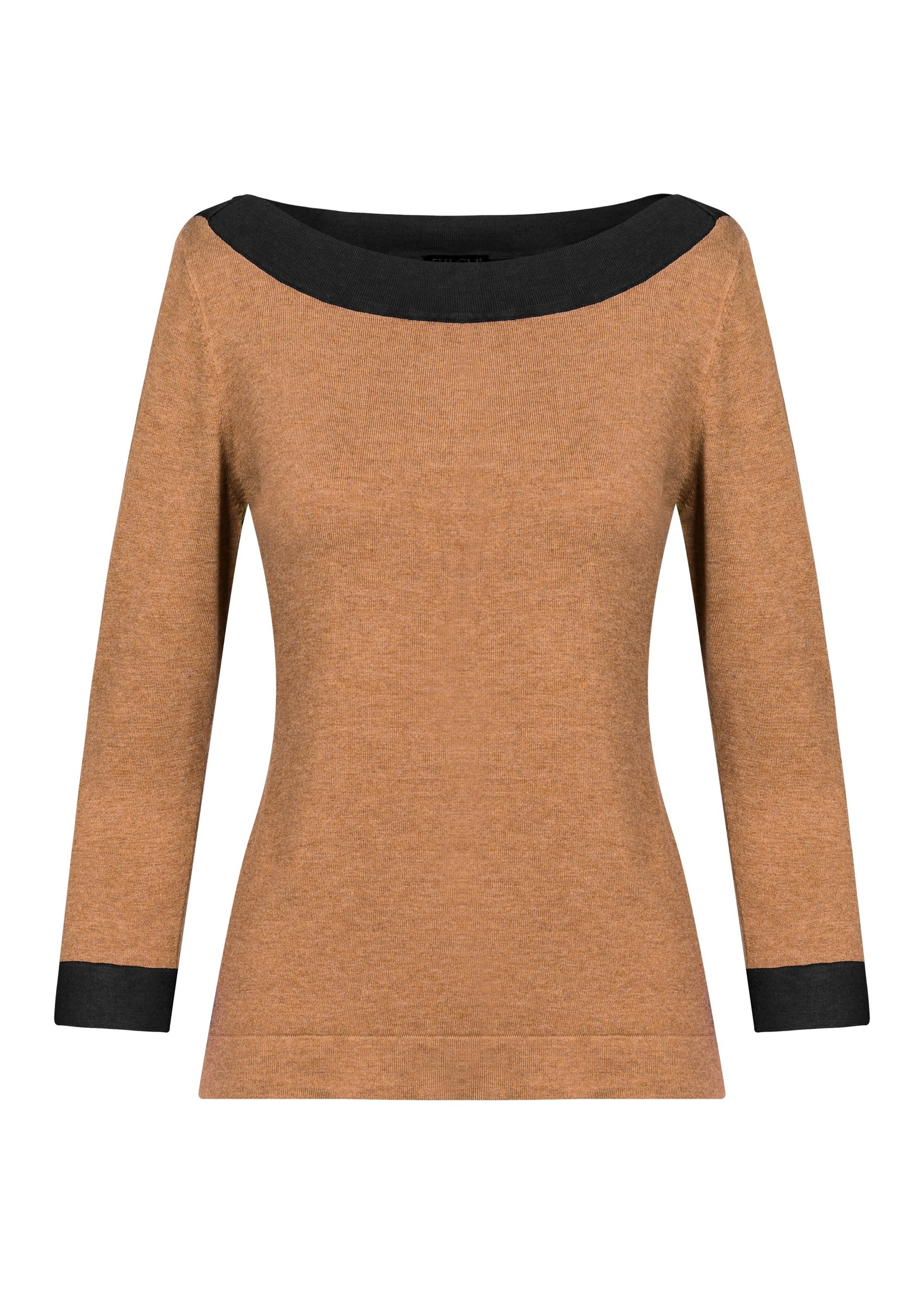 Zilch Zilch Bamboo  Boatneck Sweater
