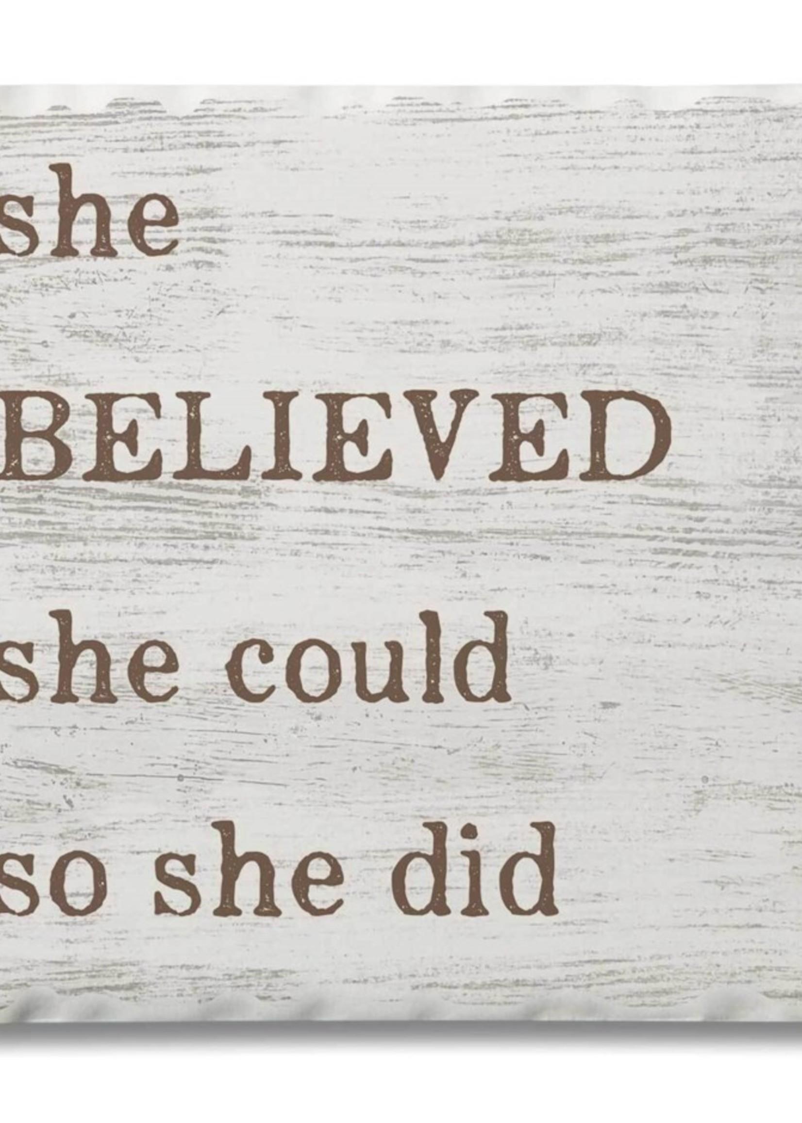 Coaster Single - She believed