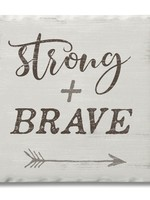 Coaster Single - Strong & Brave