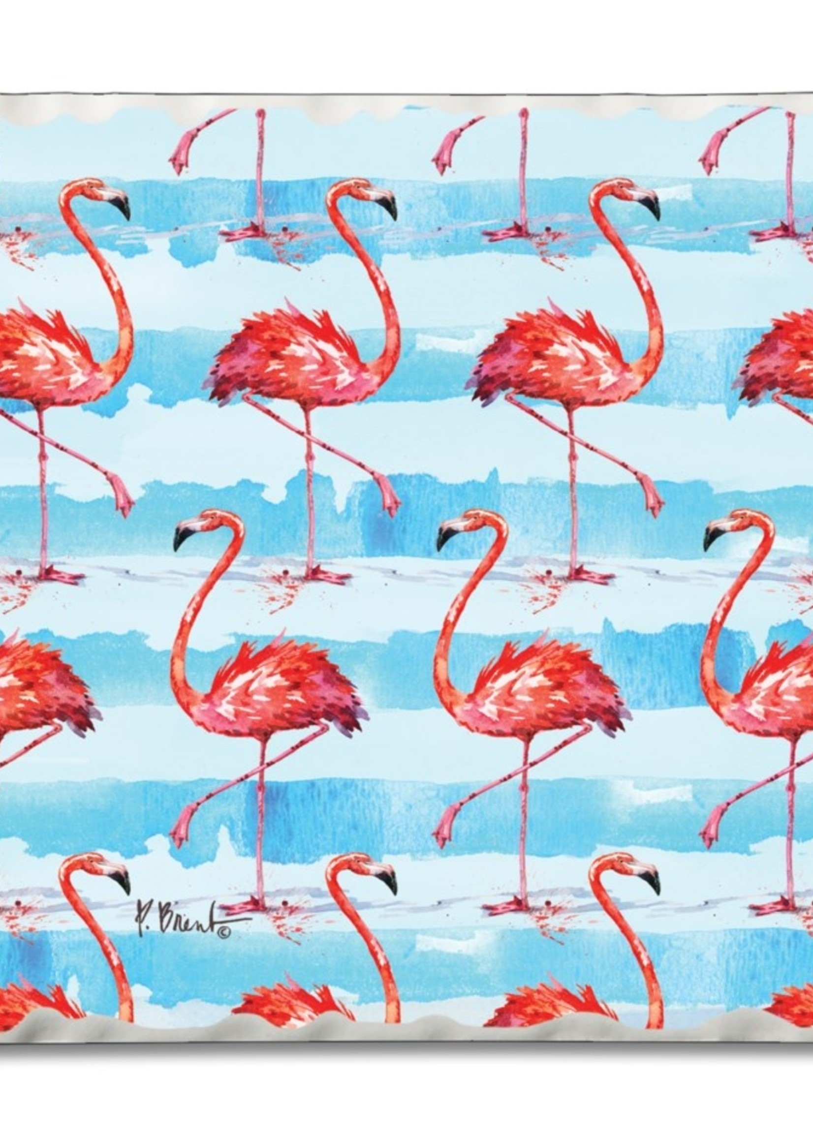Coaster Single - Flamingos