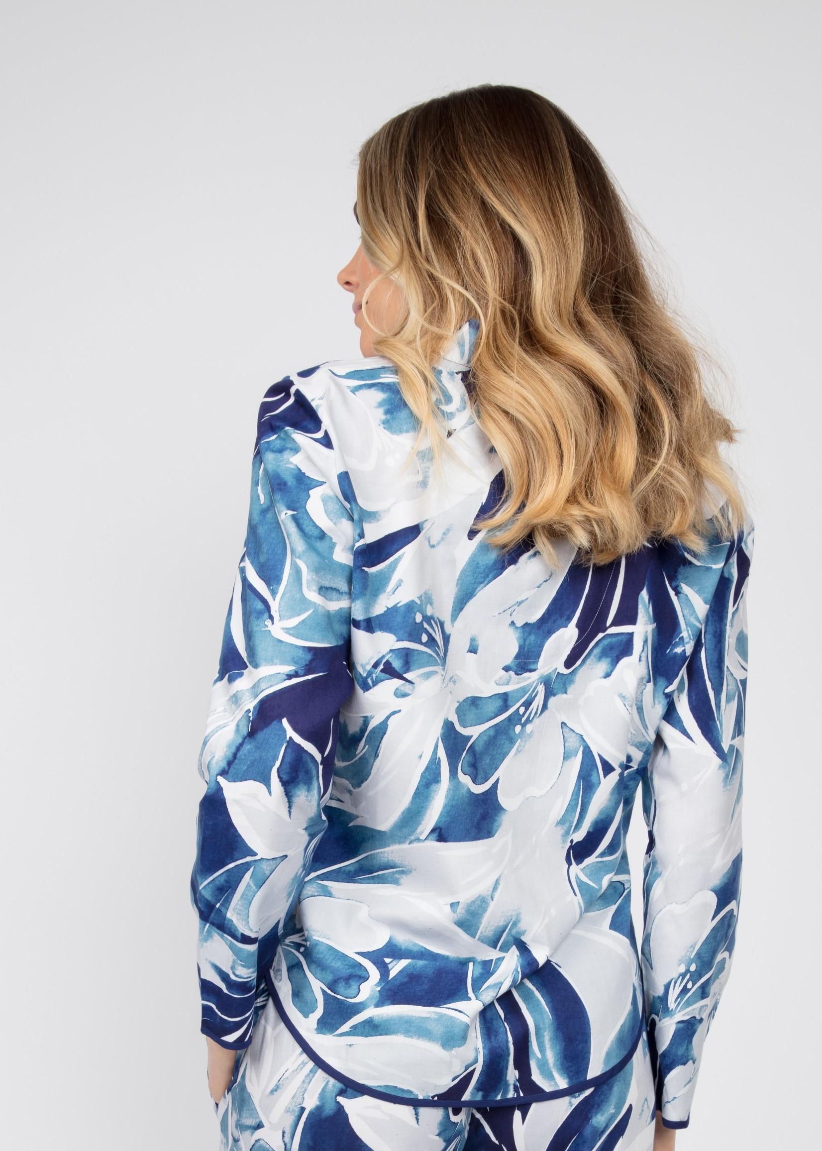 Cyberjammies Cyberjammies Ellie  Floral Pyjama L/S. Top