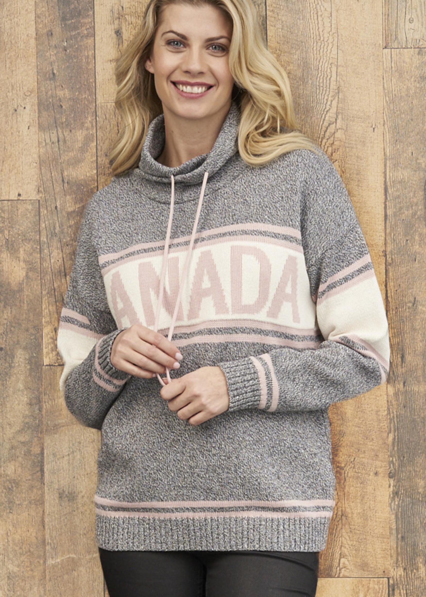 Parkhurst Parkhurst Canada Sweater Funnel Neck