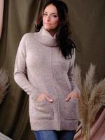 Alison Sheri Cowl Neck Tunic Sweater