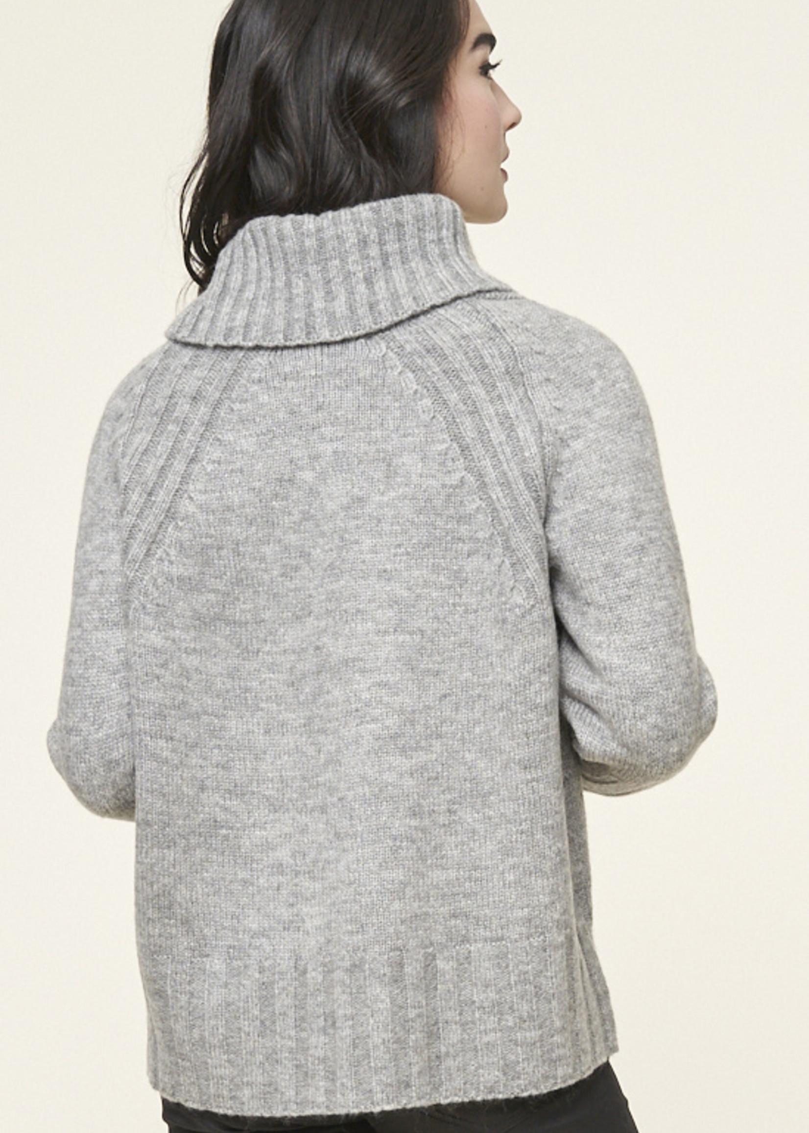 Parkhurst Parkhurst Ribbed Cowl Neck Sweater