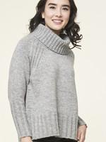Parkhurst Ribbed Cowl Neck Sweater