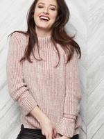 Parkhurst Ribbed Funnel Neck Sweater