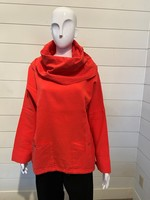 Ezze Wear Exaggerated Cowl Top