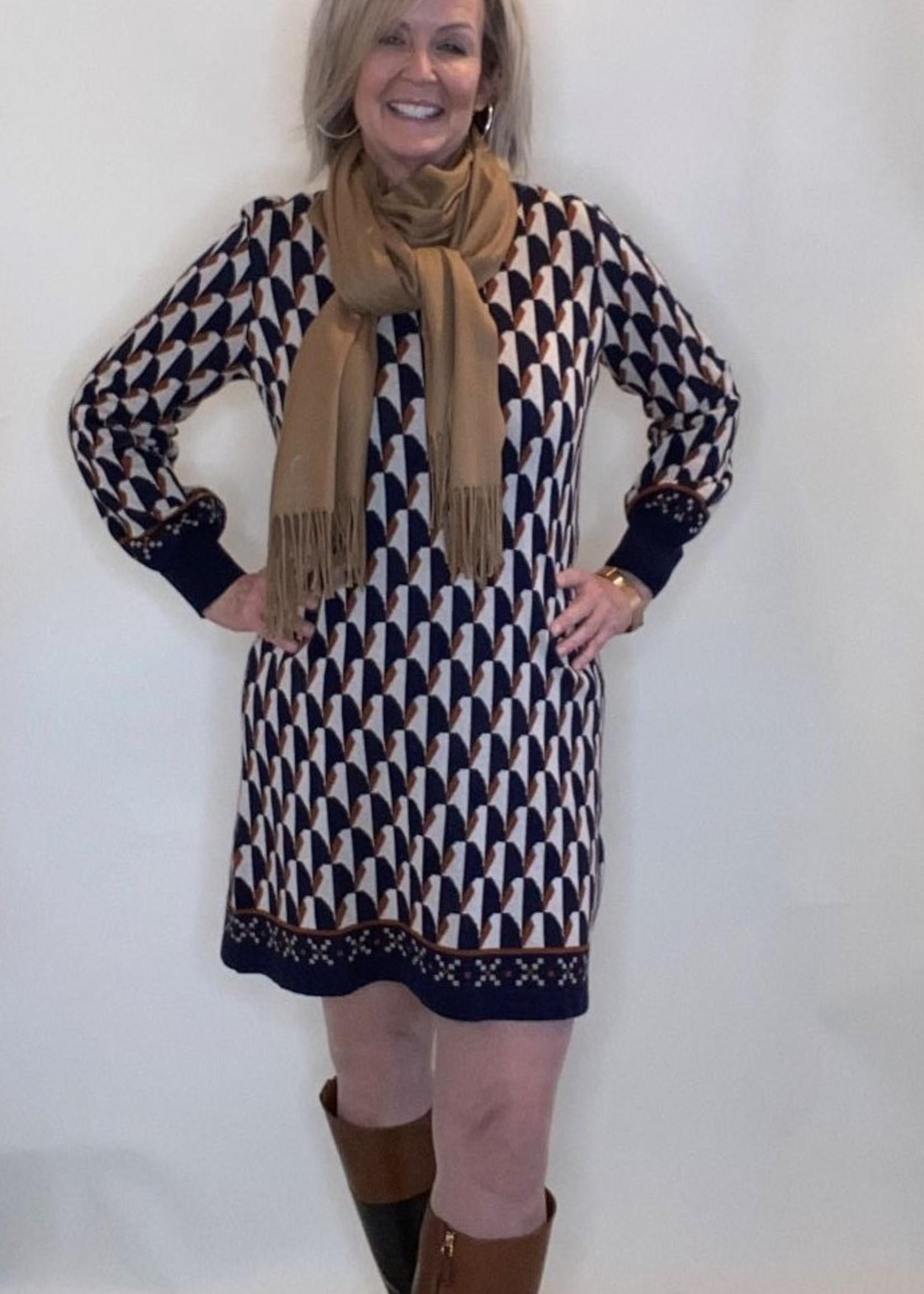Hatley Hatley Knit Jacquard Dress